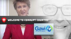Freundliches Lächeln und freundliche Millionen von Bundespräsidentin Simonetta Sommaruga zu Gunsten von Bill Gates Impfallianz GAVI.