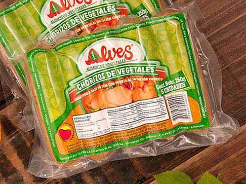Chorizo de vegetales