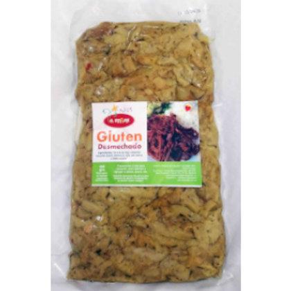 Carne desmechada vegana (gluten desmechado)