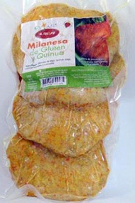 Milanesa de Quinoa y Gluten
