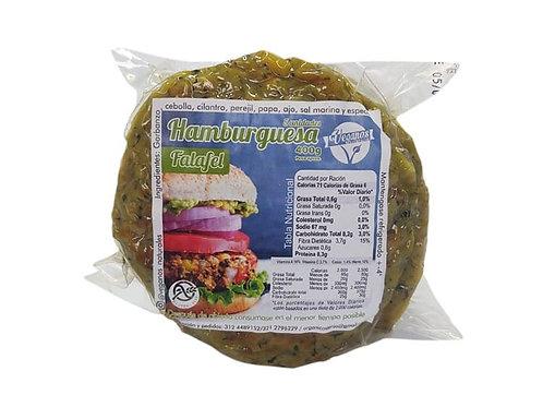 Hamburguesas de falafel