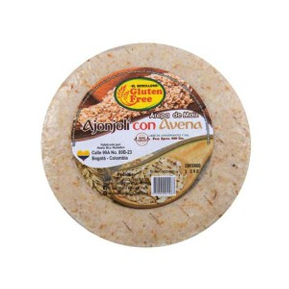 Arepa de Maiz Ajonjoli con Avena