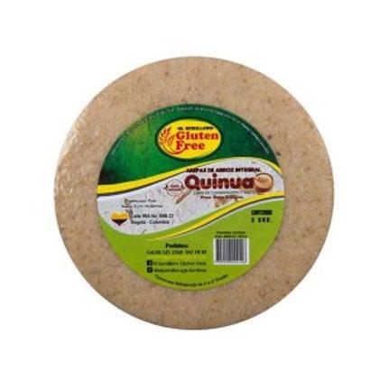 Arepa Arroz Integral con Quinua