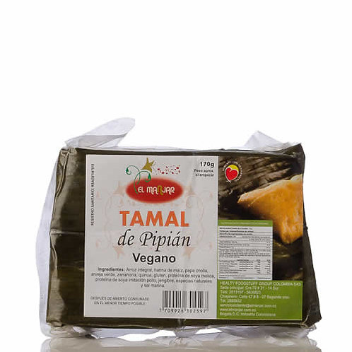 Tamal de Pipian Vegano