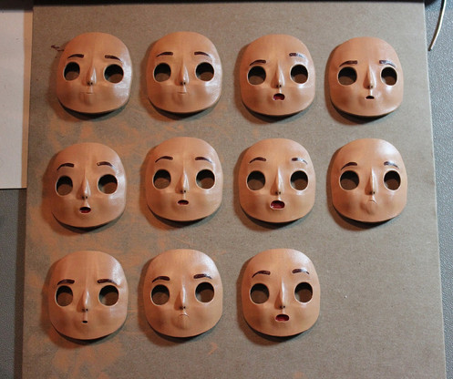 Finished Replacement Faces