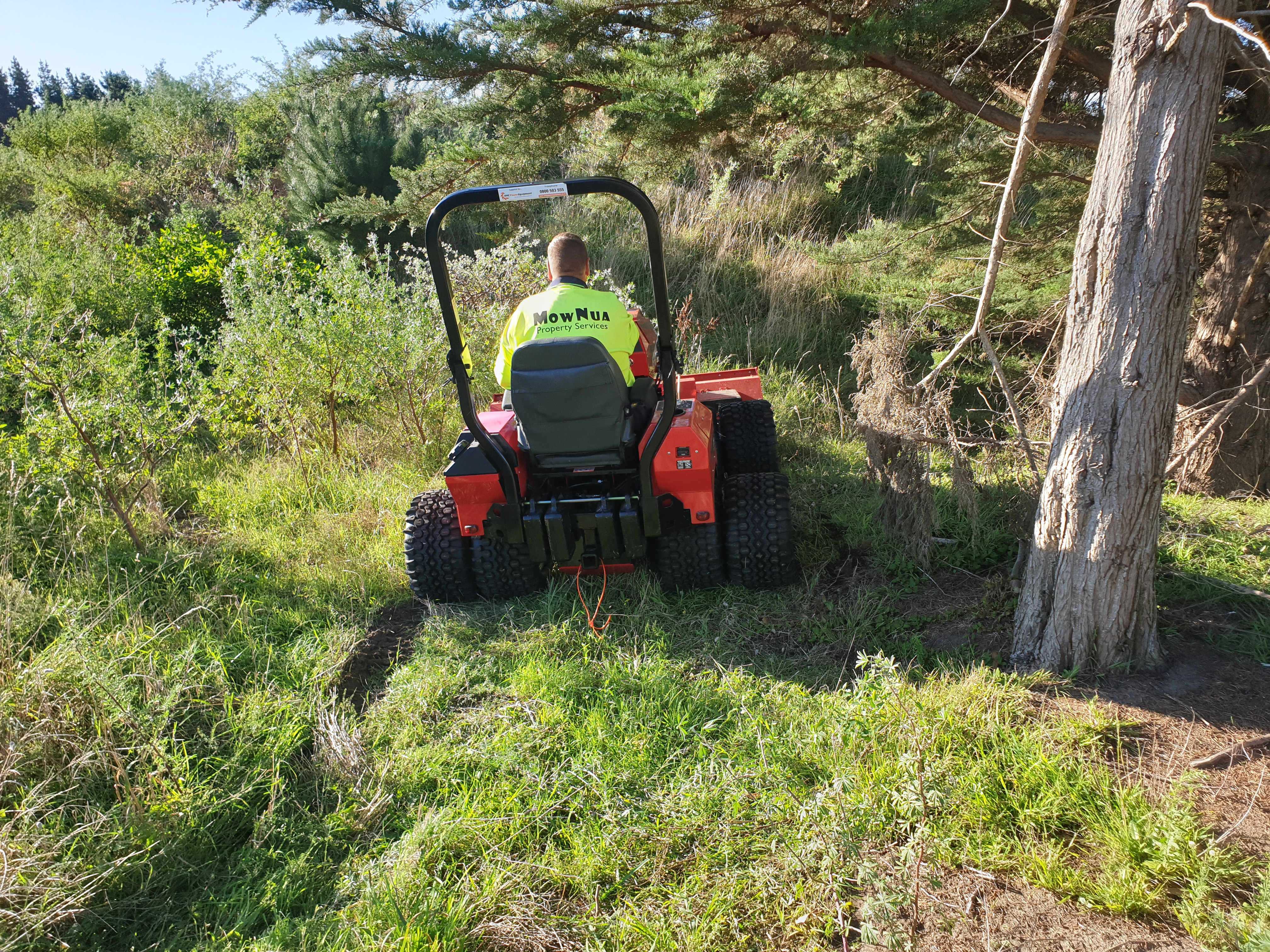 Hills and Rough Mowing