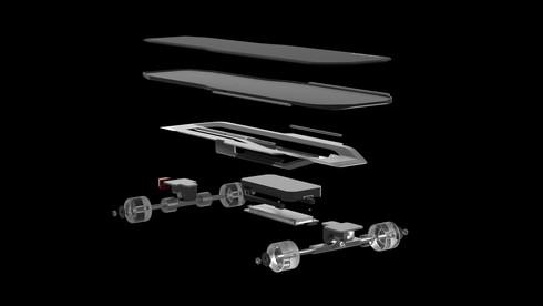 VOLTRON Skateboard