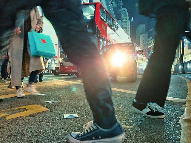 Pedestrian crossing_#hongkong #streetpho