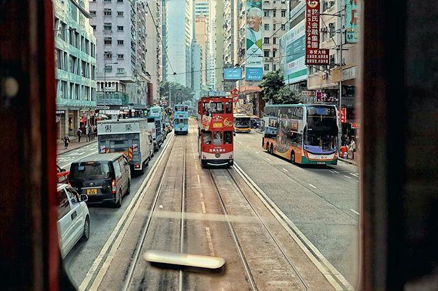 Tram in tram_#hongkong #urban #citylife