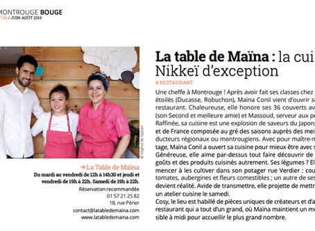 MontrougeMag' - la cuisine Nikkeï d'exception
