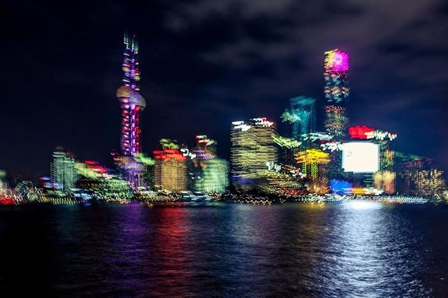 Electric Shanghai_#asia #bund #nightphot