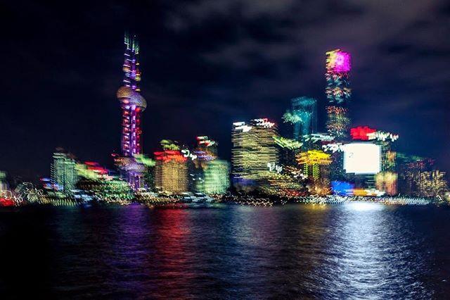 Electric Shanghai_#asia #bund #nightphot