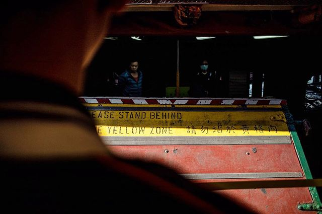 Behind the yellow zone_#hongkong #urbanp