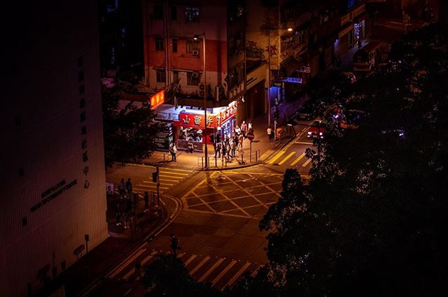 Yau Ma Tei_#hongkong #nightphotography #