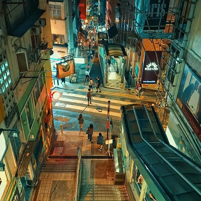 Soho _#hongkong #nightscape #urban