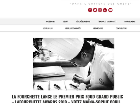 Food & Sens - La Fourchette Awards