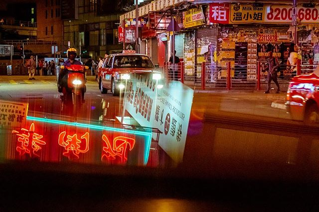 Reflections_#hongkong #nightlights #nigh