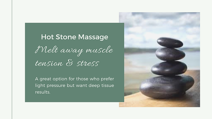 Hot Stone Massage Well Being