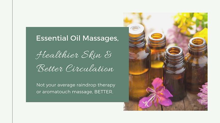 Essential Oil Massage Well Being