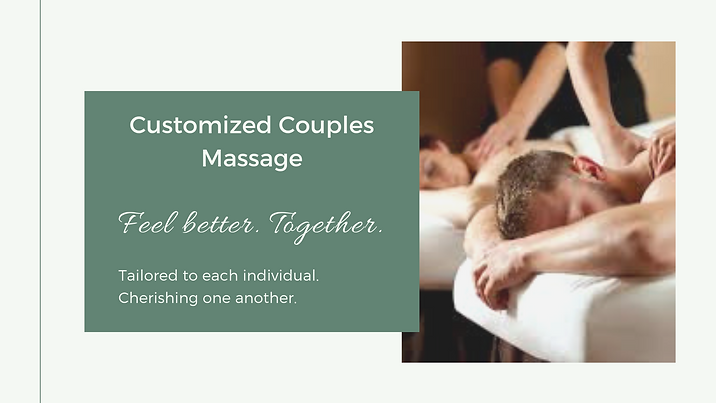 Couples Massage Well Being