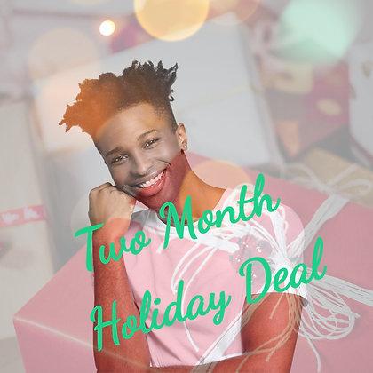 INTRO ADULTS TWO MONTH DEAL! NOV/DEC Nov 5, 12, 19 Dec 3, 10, 17 (7-9pm)
