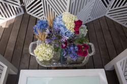 Bandeja com Flores