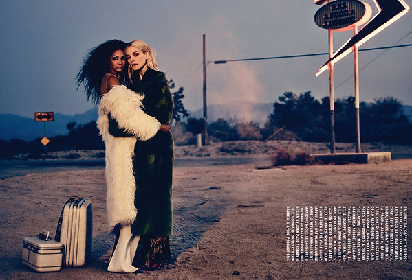 Production by Cynthia Hadden for Lyric Productions for Vogue Italia