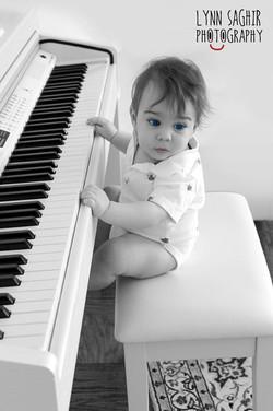 Liam, the pianist