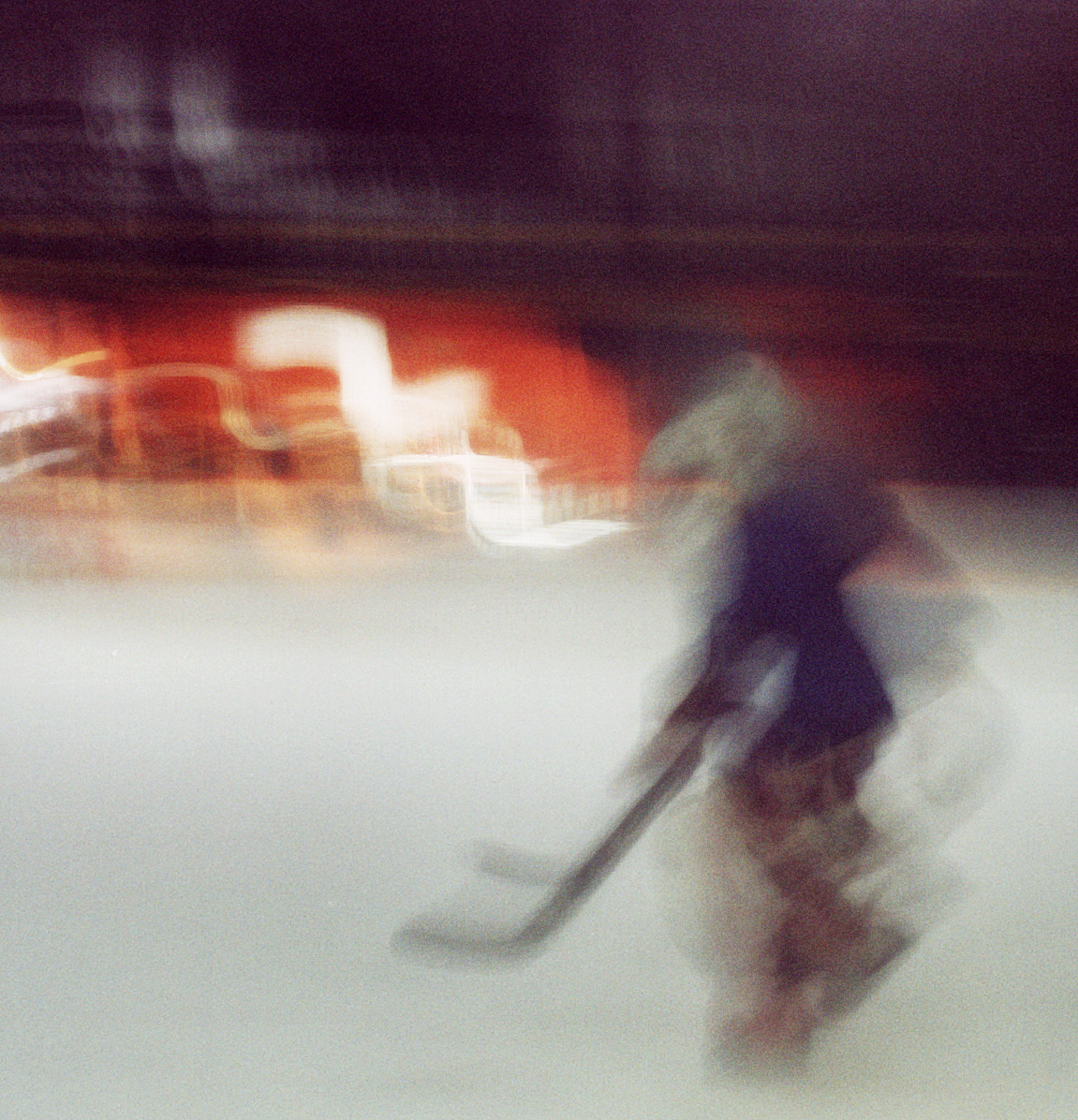 Motion Blur: Hokey player