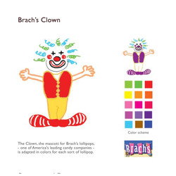 Brach's clown