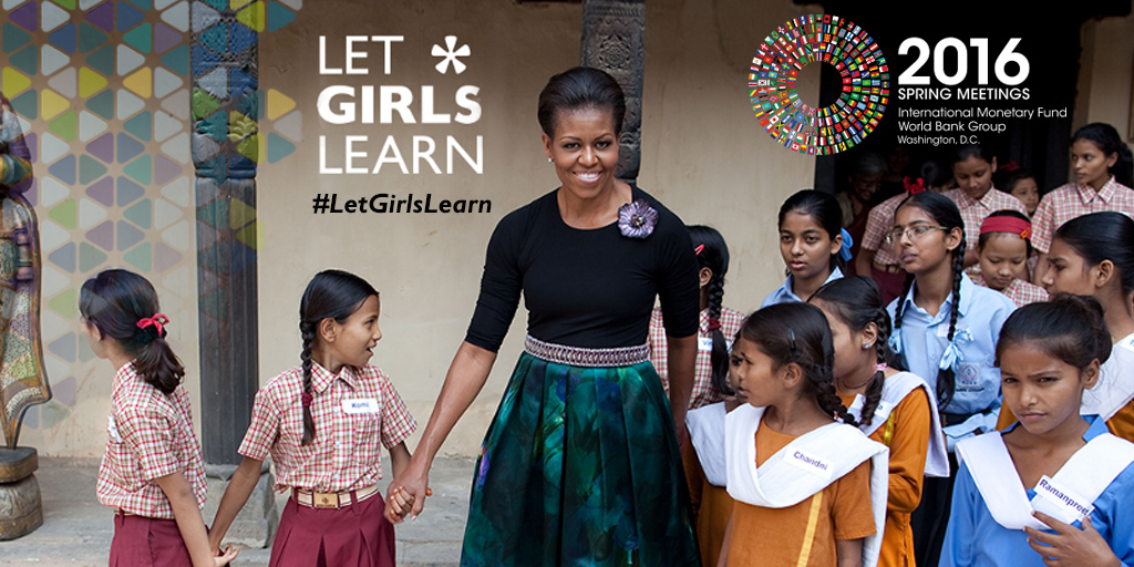 FLOTUS - Let Girls Learn