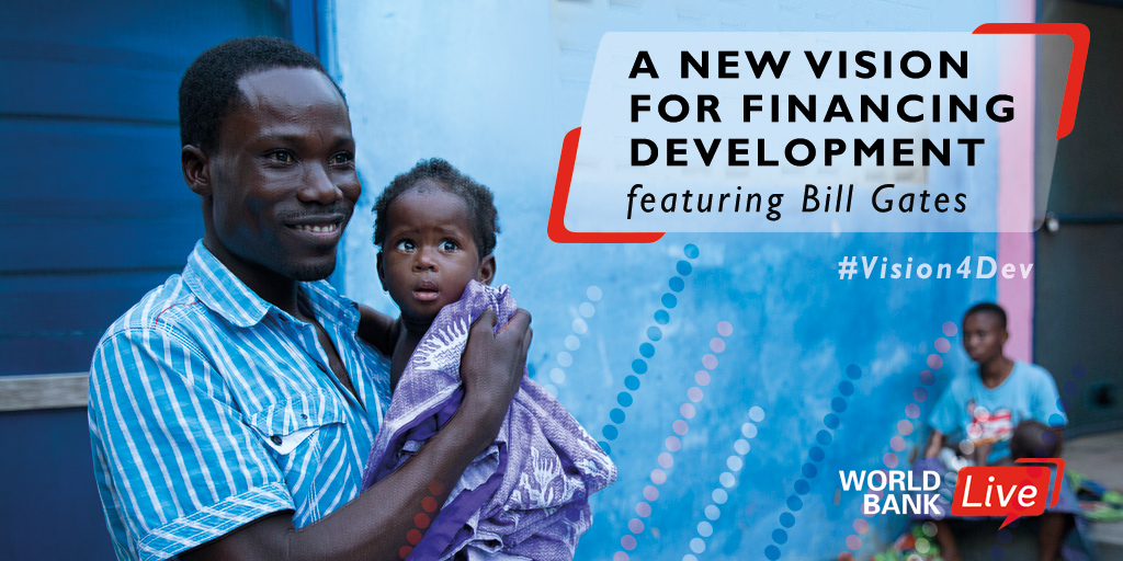 A new vision for financing developme