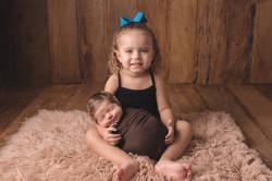 Newborn irmãos