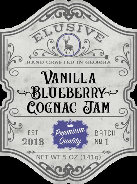 Vanilla Blueberry Cognac Jam