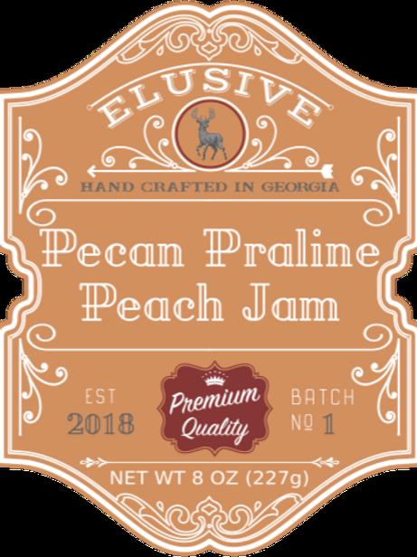 Pecan Praline Peach Jam