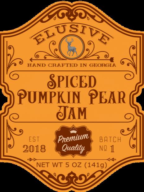 Spiced Pumpkin Pear