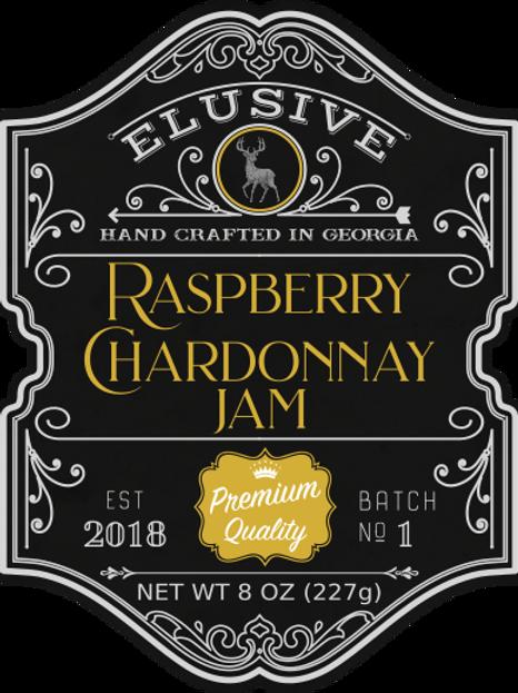 Raspberry Chardonnay Jam