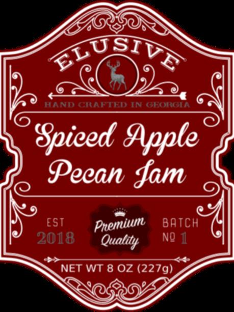 Spiced Apple Pecan Jam
