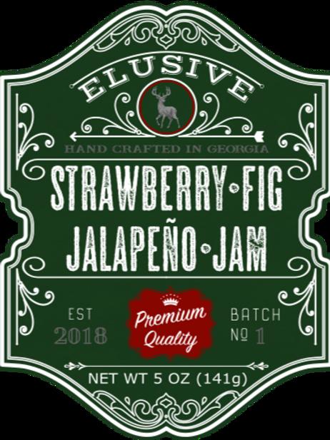 Strawberry Fig Jalapeno Jam