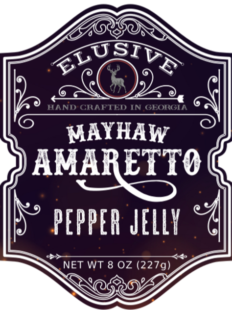 Mayhaw Amaretto Pepper Jelly