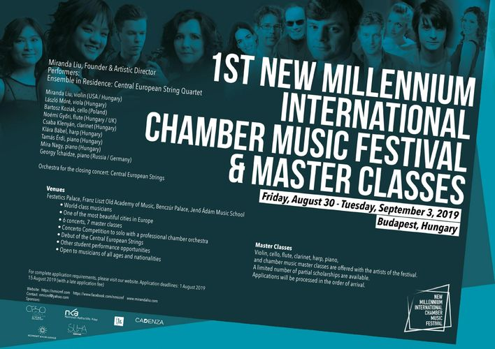 New Millenium International Chamber Music Festival | Opening