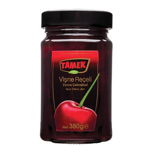 Tamek Sour Cherry Jam, Visne Receli, 380 gr