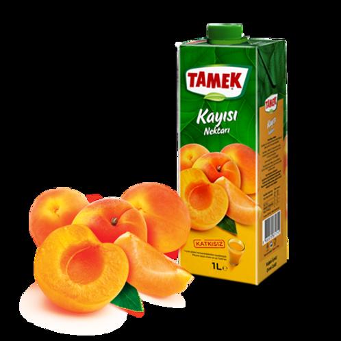 Tamek Apricot Juice, Kayisi Nektari, 1 LT