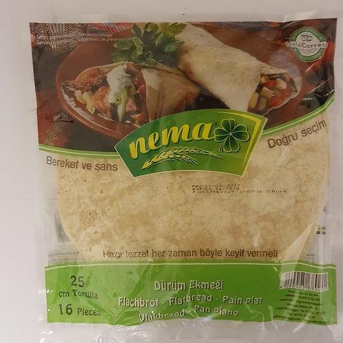 Nema 25CM Lavas, Durum Ekmegi, Tortilla 600 g