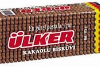 Ulker Tea Biscuits Cacao, 175 g
