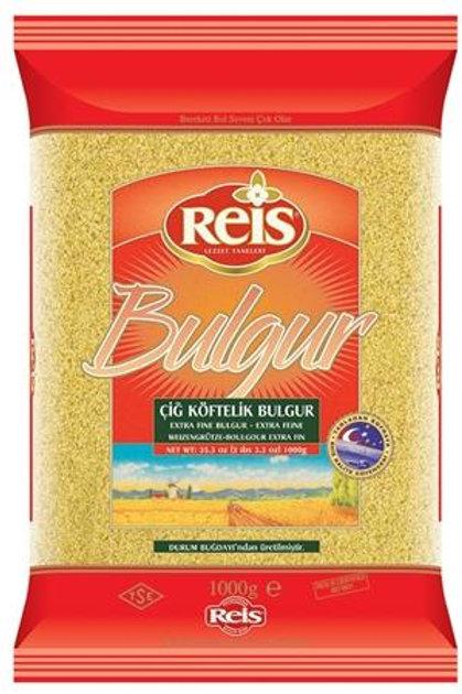 Reis Cig Koftelik Bulgur - Extra Fine Bulgur 1 Kg ( 2.2 Lbs )