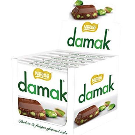 Nestle Damak Milk Chocolate with Pistachio 65g X 6