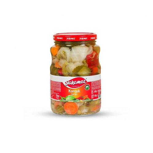 Yakamoz Mixed Vegetable Pickles 1700ml