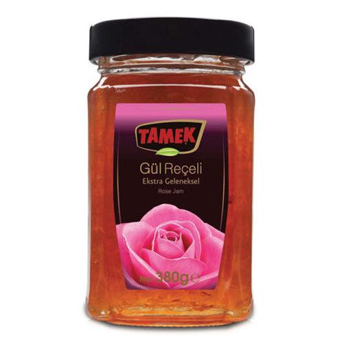 Tamek Rose Jam, Gul Receli, 380 gr