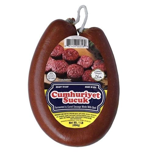 Cumhuriyet Sucuk - Dried Beef Sausage